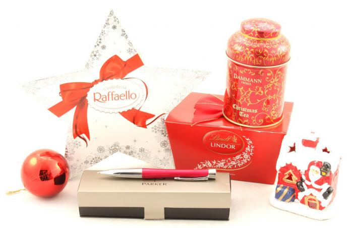 Coş Cadou Crăciun Business Red Christmas-big
