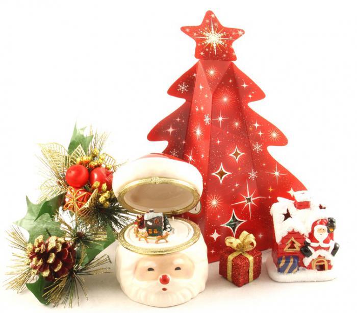 Cadou Cutie Muzicală Santa Claus-big