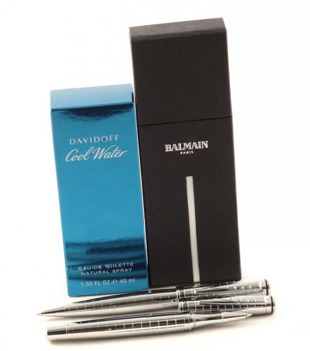 Gentleman Balmain Paris & Cool Water for Men 1