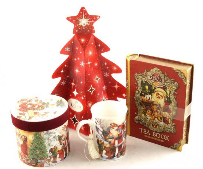 Cadou Crăciun Basilur Tea Book & Cană Festivă 3