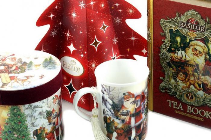 Cadou Crăciun Basilur Tea Book & Cană Festivă 1