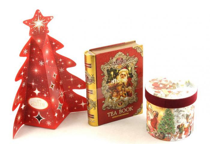 Cadou Crăciun Basilur Tea Book & Cană Festivă 0
