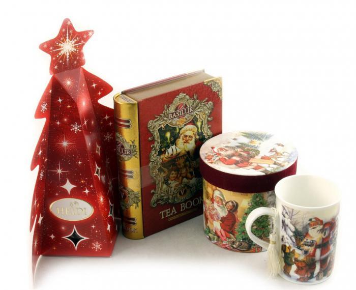 Cadou Crăciun Basilur Tea Book & Cană Festivă 2
