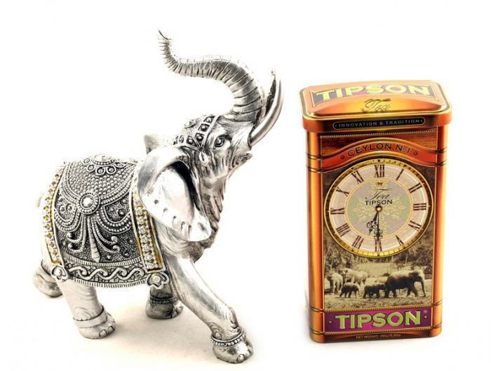 Set Cadou Horse Clock & Tipson Tea 0