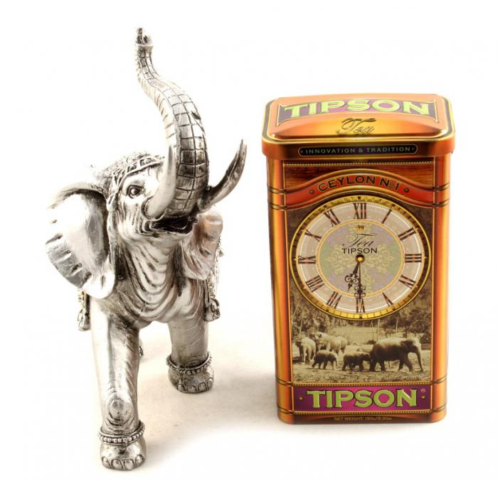 Set Cadou Horse Clock & Tipson Tea 4