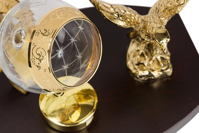 THE KING EAGLE by Credan Încălzitor de Cognac - Made in Spain 1