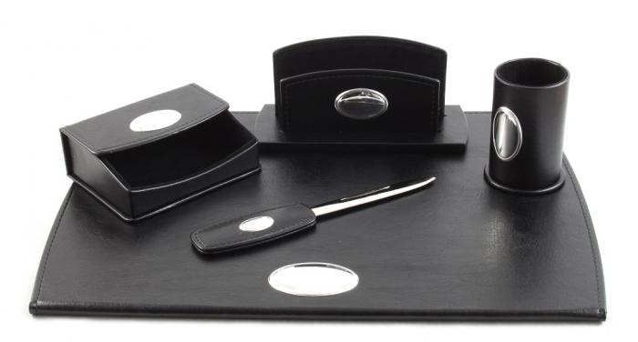 Cadou Set de Birou Corporate Leather by Valenti - Made in Italy-big