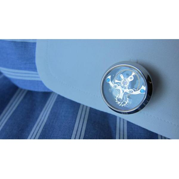 Set Butoni Tourbillon Luxury Silver si Note pad Black Hugo Boss - personalizabil 6