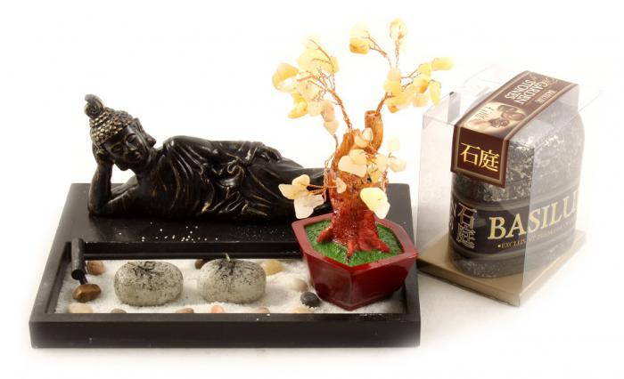 Cadou decoratiune Feng-Shui Garden Stones 2