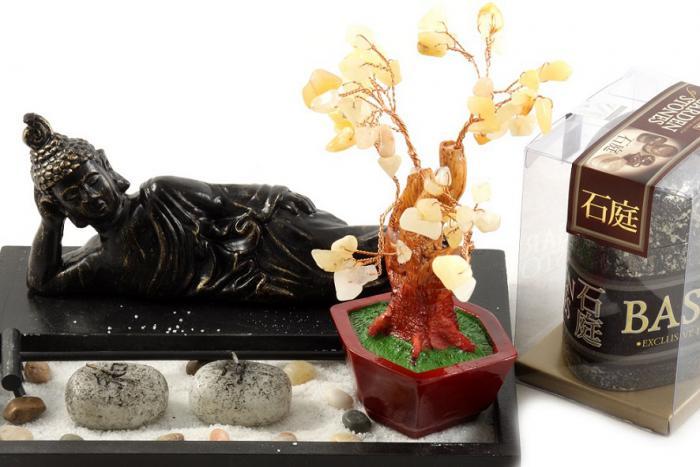 Cadou decoratiune Feng-Shui Garden Stones 1
