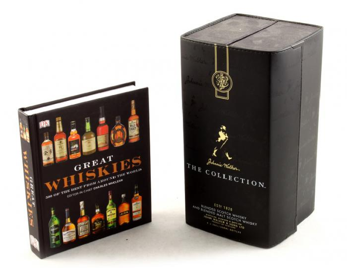 Cadou Great Whiskies Johnnie Walker - The Collection 0