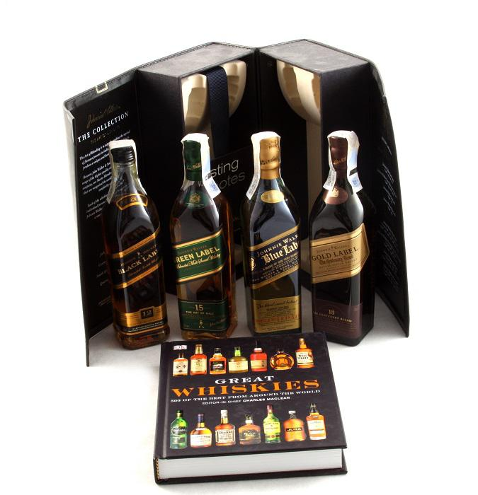 Cadou Great Whiskies Johnnie Walker - The Collection 2
