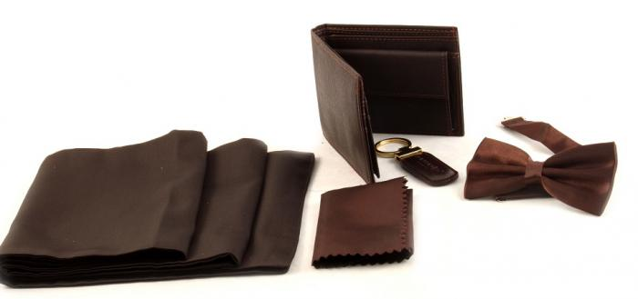 Cadou Brown Accessories For Man 0