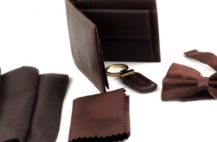 Cadou Brown Accessories For Man-big