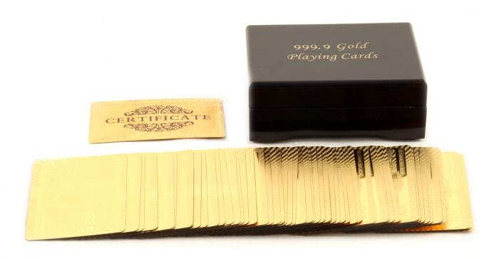 Cadou Gold Magic Playing Cards 5