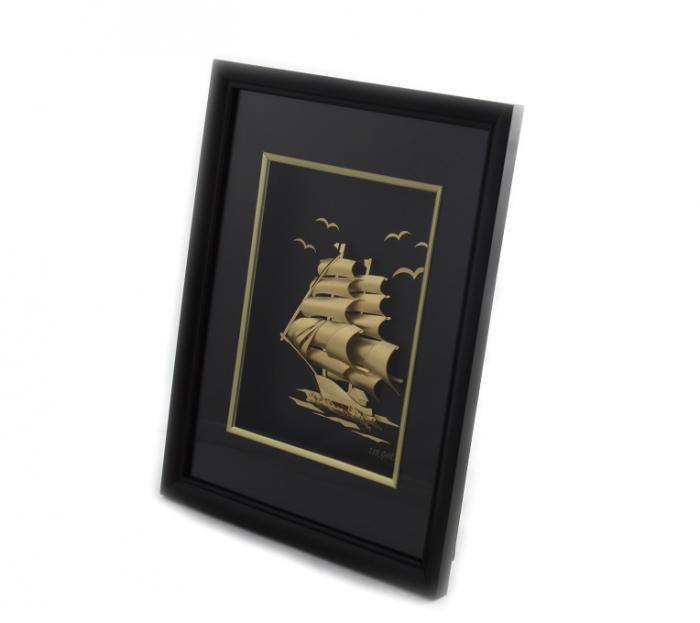 Tablou Golden Ship 24 Karate-big