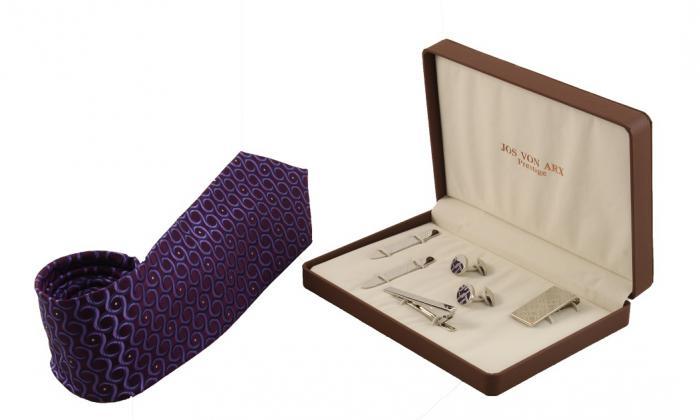 Cadou Purple & Silver Accessories by Jos Von Arx 0