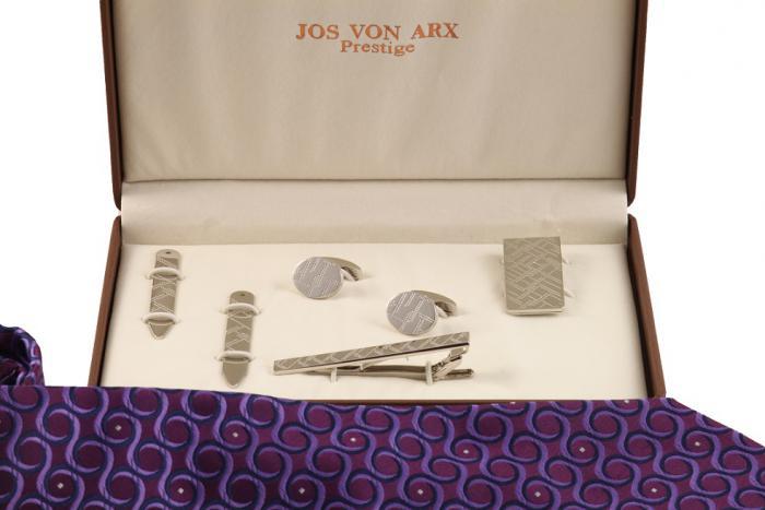 Cadou Purple & Silver Accessories by Jos Von Arx 4