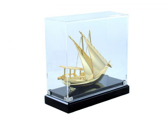 Macheta Gold Ship Glass 24 carate 3