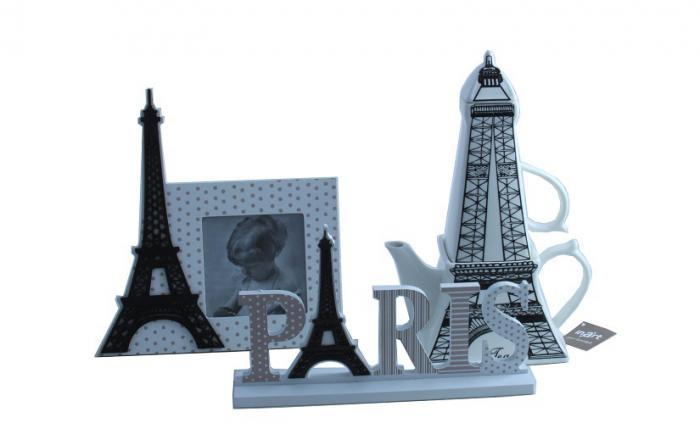Ramă Foto & Ceainic Paris Amour 2