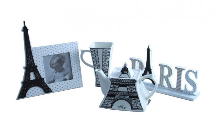 Ramă Foto & Ceainic Paris Amour 3