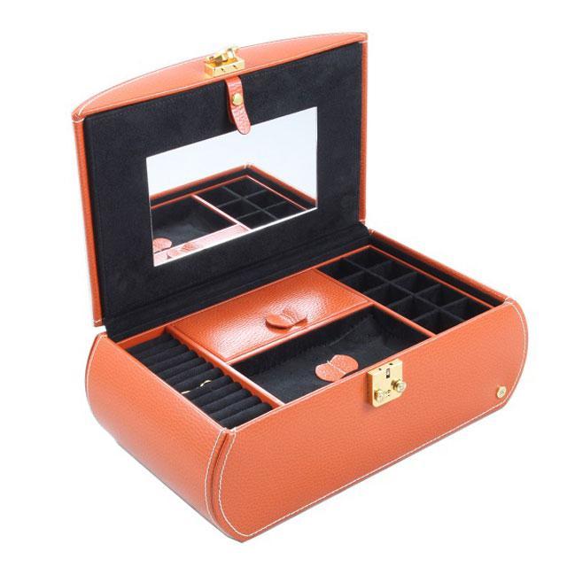 Cutie Bijuterii Leather Orange by Friedrich - Made in Germany-big