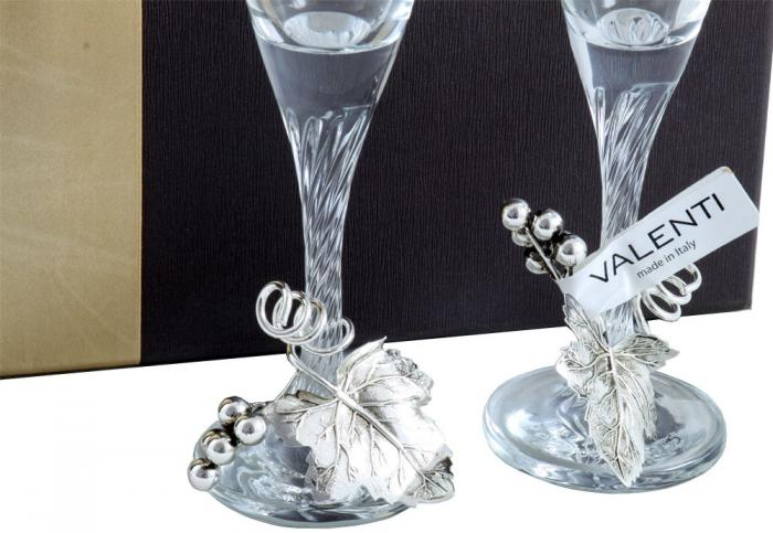 Pahare Şampanie Vineyard by Valenti - Made in Italy 3