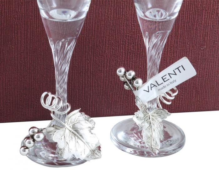 Pahare Şampanie Vineyard by Valenti - Made in Italy 5