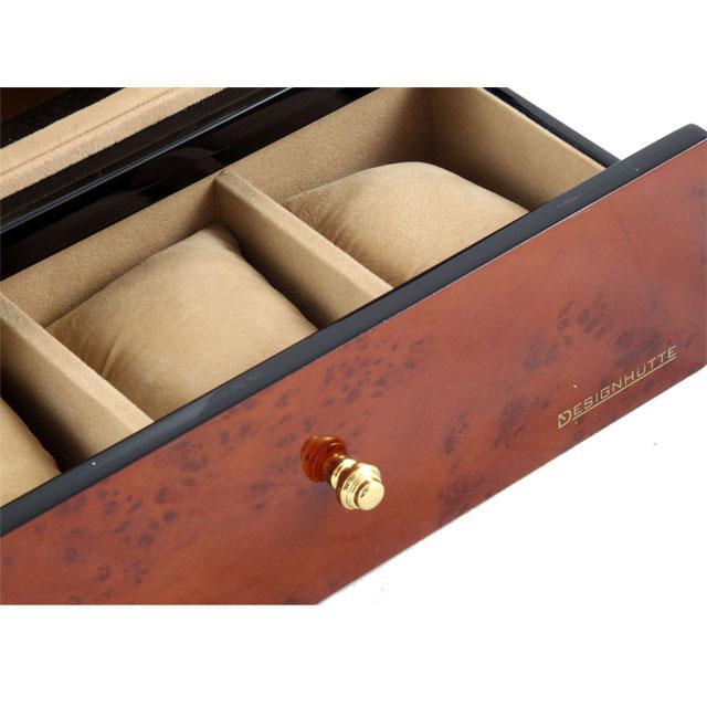 Watch Winder Basel 2 Brown by Designhütte – Made in Germany-big