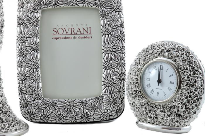Set Silver Home Deco Argenti Sovrani made in Italy 2
