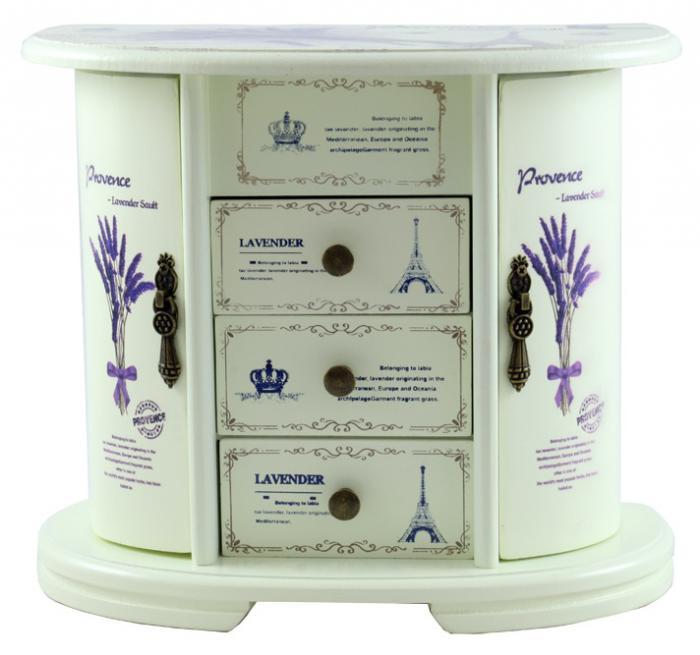 Cutie Bjuterii Lemn Provence 4