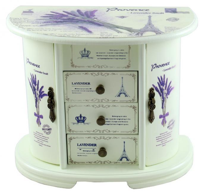 Cutie Bjuterii Lemn Provence 0