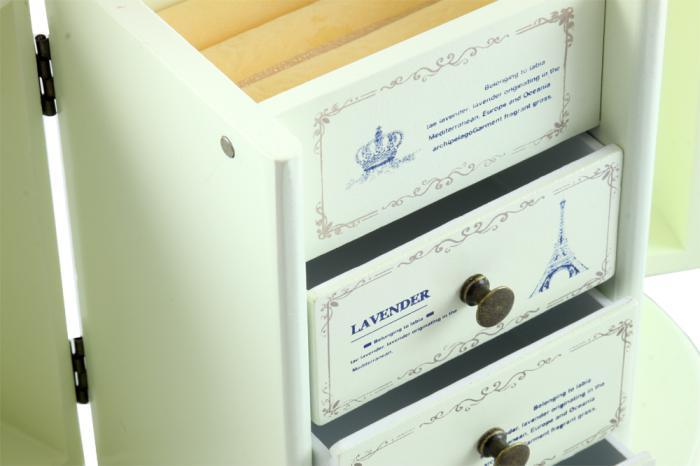 Cutie Bjuterii Lemn Provence 2