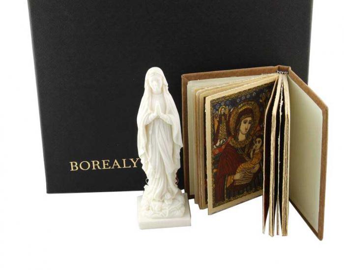 Carte de Rugaciuni catre Maica Domnului si Statueta Fecioara Maria-big