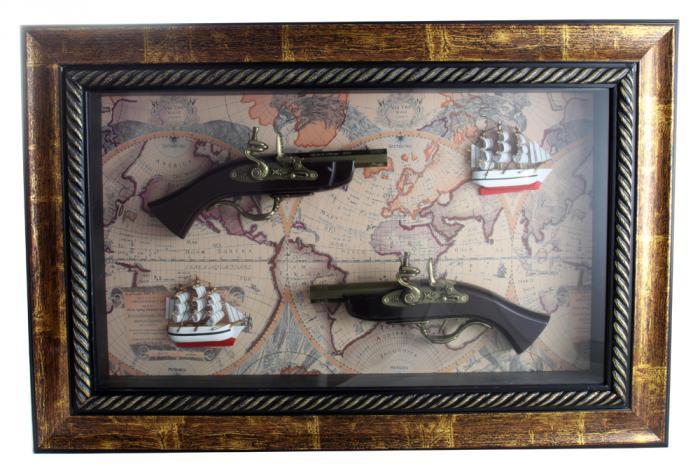 Tablou Guns & Boats 0