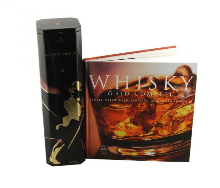 Whisky Black Label şi Enciclopedia Whisky Ghid Complet-big