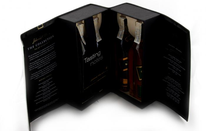 Cadou Great Whiskies Johnnie Walker - The Collection 4