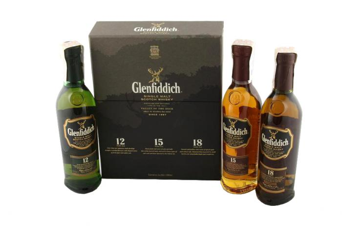Glenfiddich Royal Tasting Set - 12, 15 & 18 Years Old Selections 0
