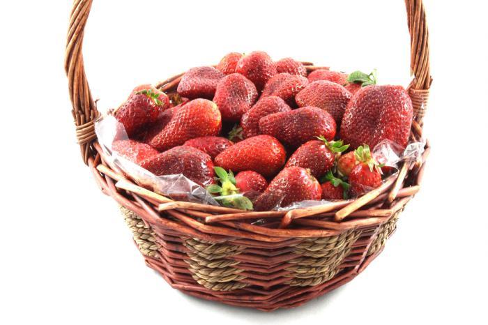 Strawberries Basket-big