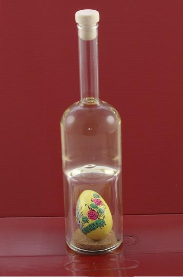 Sticlă Ou Paşte - lucrată manual-big