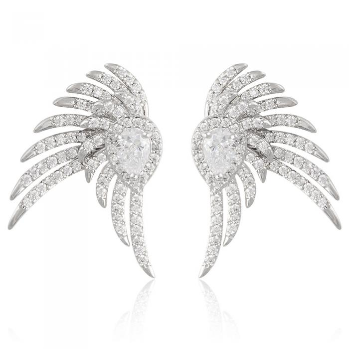 Cercei Borealy Glamour Crystal Wings 0