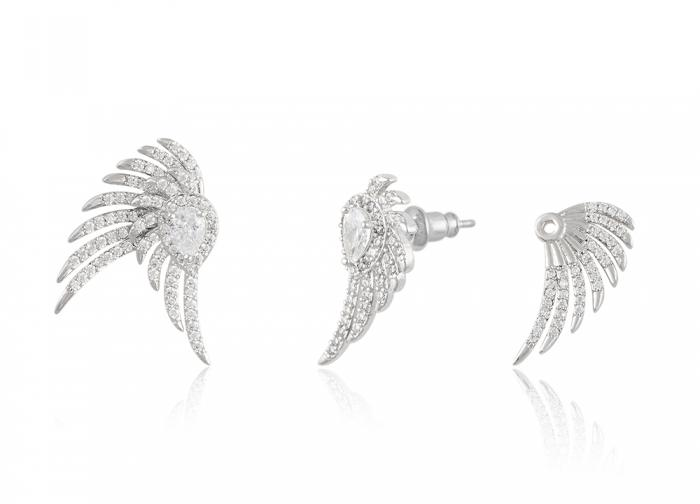 Cercei Borealy Glamour Crystal Wings 2