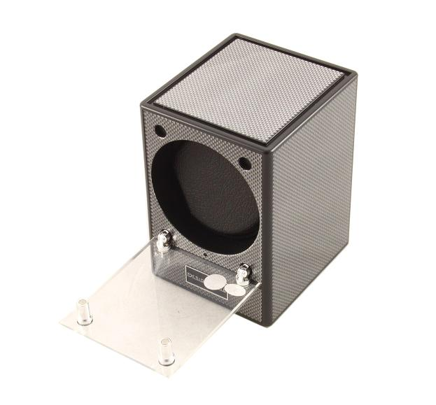 Automatic Watch Winder Piccolo Carbon by Designhutte - Made in Germany-big