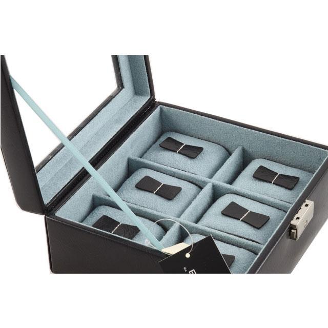 Set Cutie 6 Ceasuri Bond Glass by Friedrich si Note Pad Black Hugo Boss - personalizabil-big