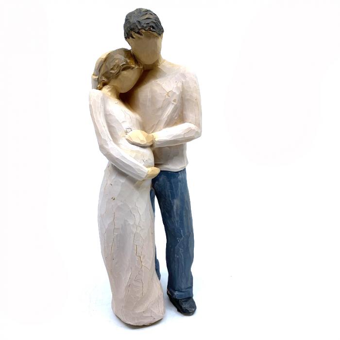 Statueta Cuplu In love Pregnancy [1]