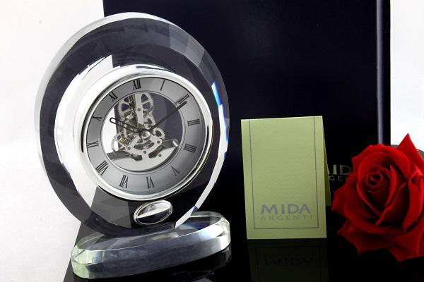 Ceas Luxury Oval Crystal by MIDA Argenti-big