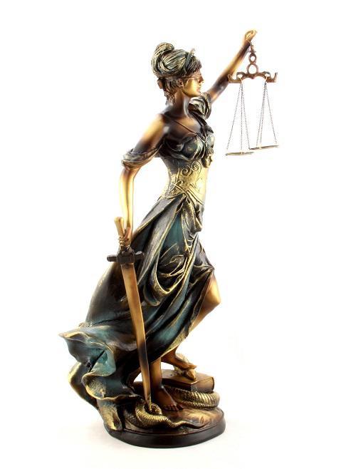 Zeiţa Justiţiei 30 cm 2
