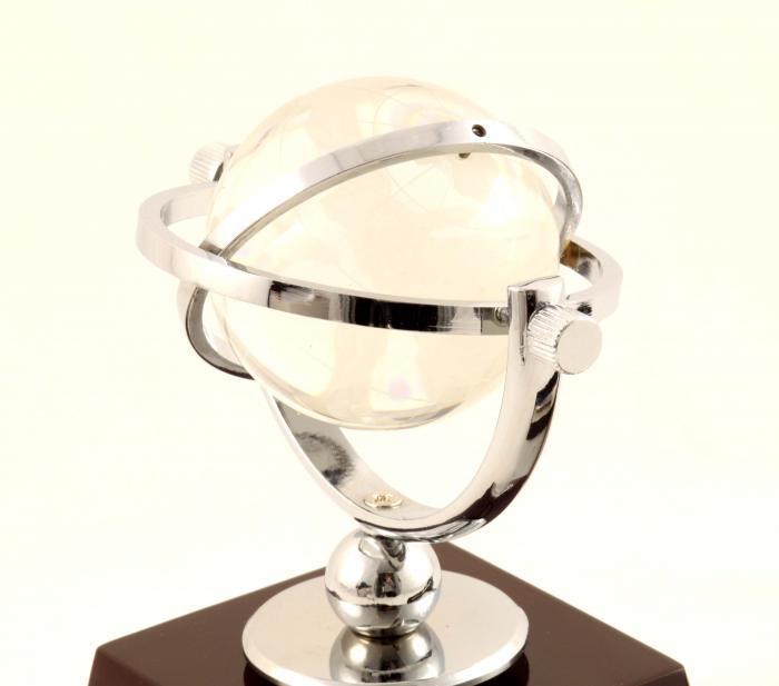 Cadou White Globe Desk & Pix Cerruti 1881 Personalizabil 1
