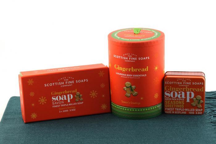 Christmas Gingerbread Aroma - Scottish Fine Soaps 0