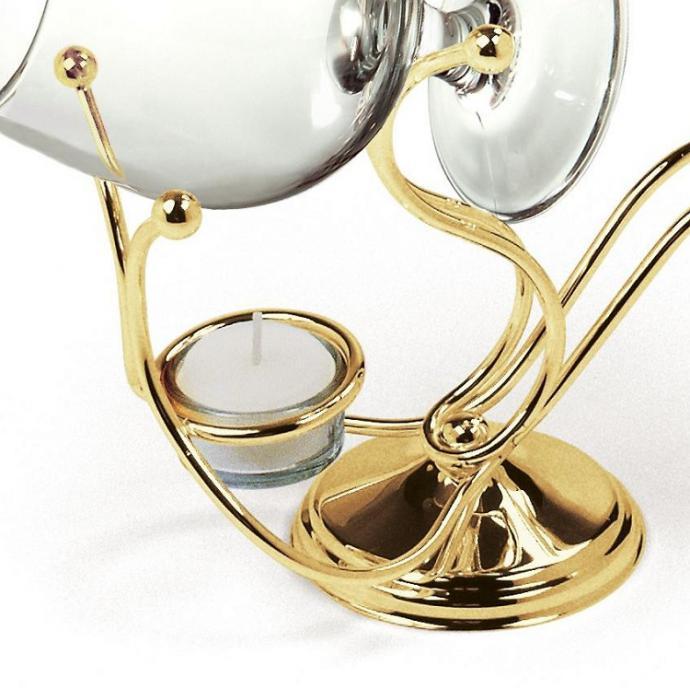 Încălzitor de cognac placat cu aur by Chinelli - Made in Italy 1
